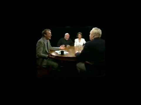 Charlie Rose Interviewing Van Johnson about Brigadoon (1997)