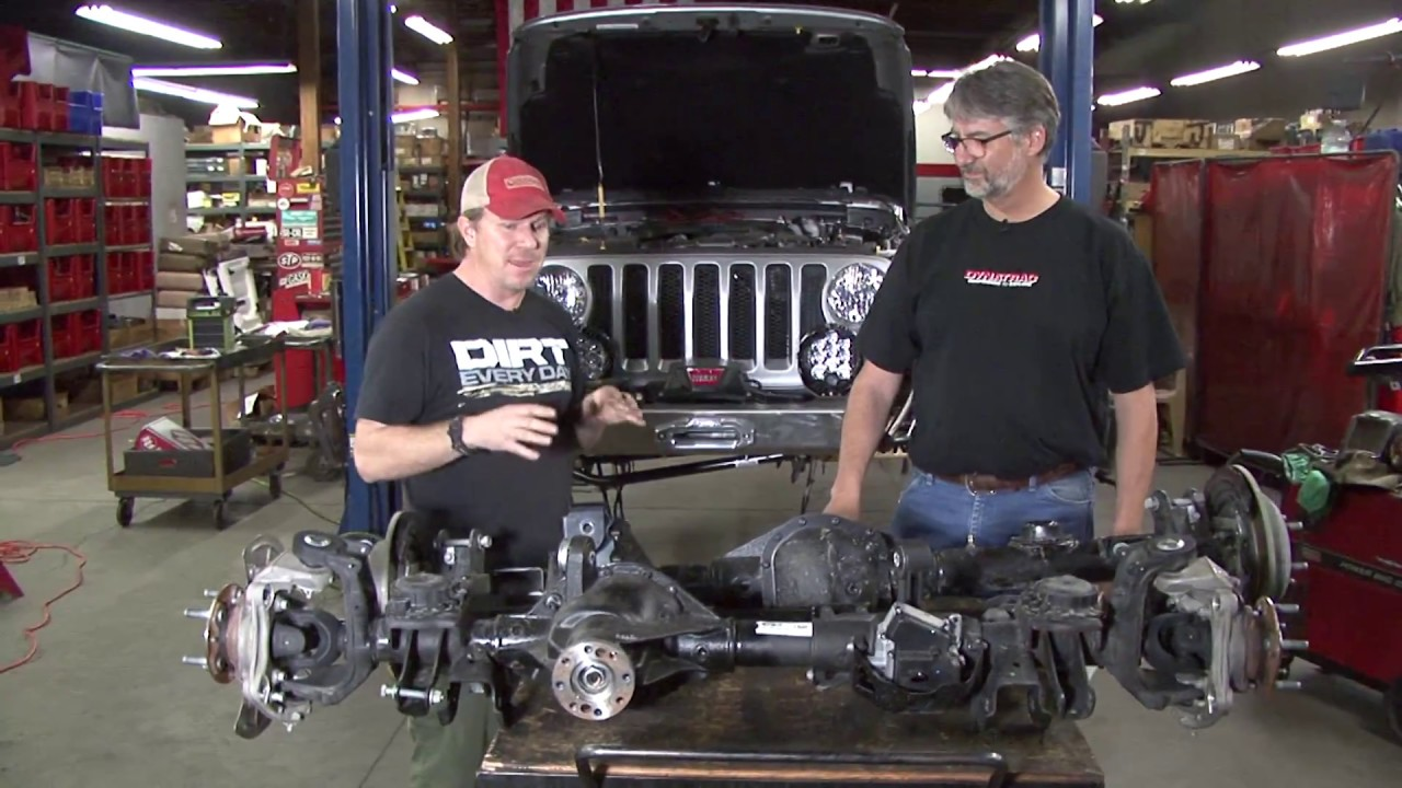 Dynatrac First Look at Factory Jeep JL Axles