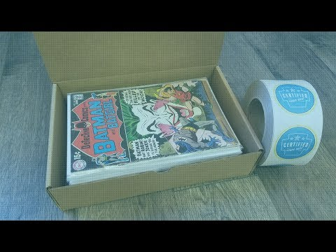 Best Comic Book Shipping Boxes | Certified Comic Shop