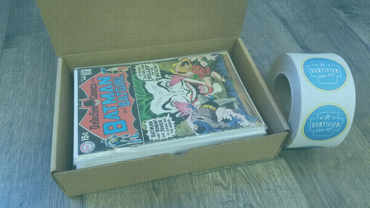 Selling Comics on eBay - How to Keep Comics in Good Condition While Shipping