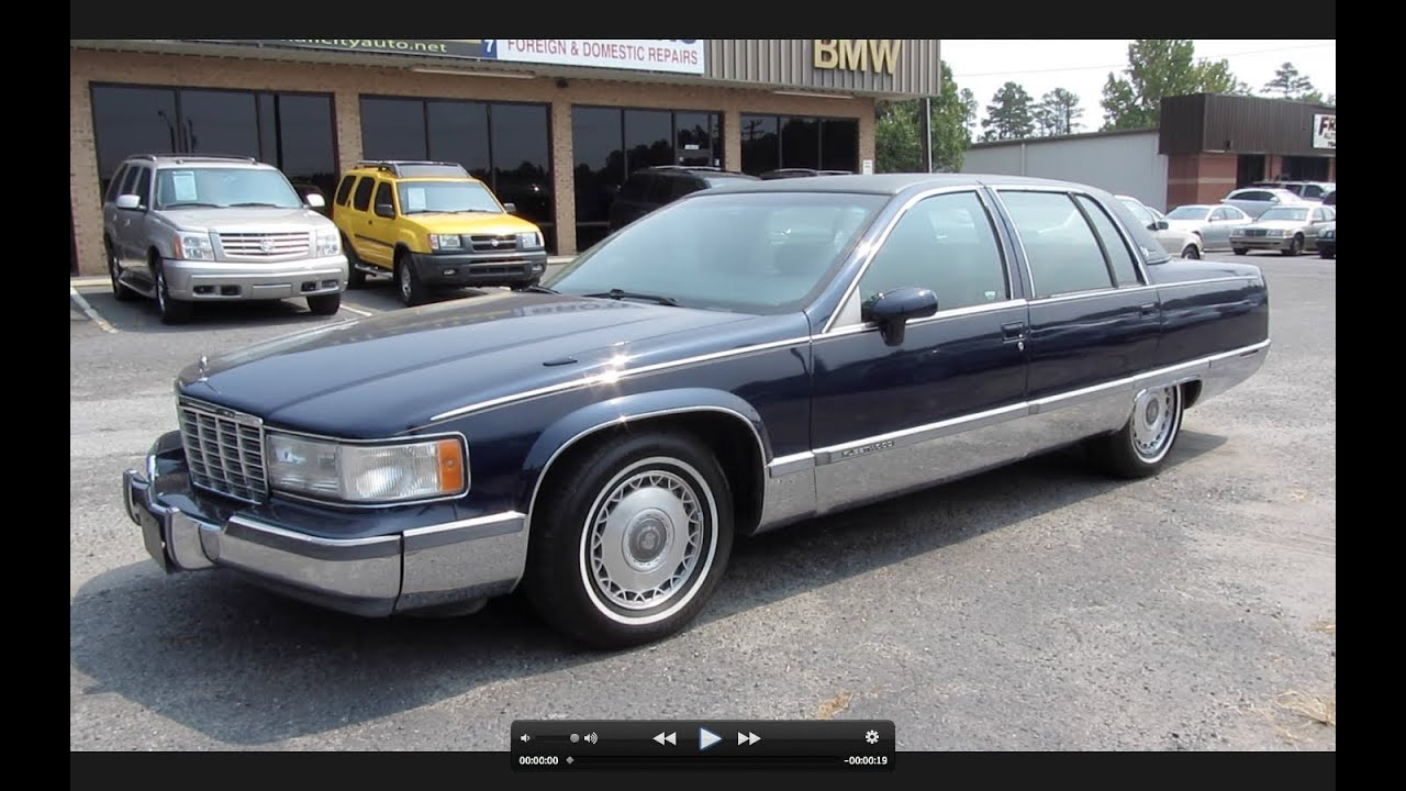 1994 cadillac fleetwood brougham start up exhaust and in depth review youtube