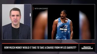 How Much Would It Cost For You To Take A Charge From Myles Garrett?