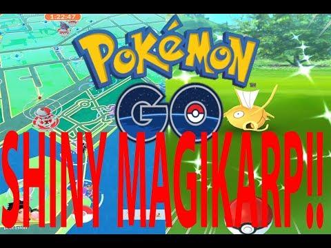 Pokémon GO WELLINGTON WATERFRONT, SHINY MAGIKARP!?