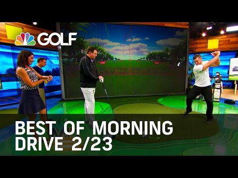 Morning Drive Best of The Week 2/23 | Golf Channel