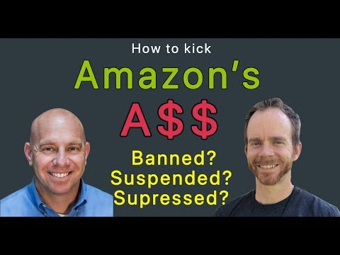 How to Kick Amazon's Ass when they Suspend Your Account or Suppress Your Listing: C. J. Rosenbaum