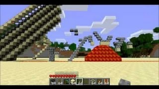 Playable Angry Birds in Minecraft