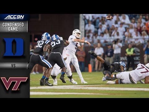 Duke Blue Vs. Virginia Tech Condensed Game | ACC Football 2019-20