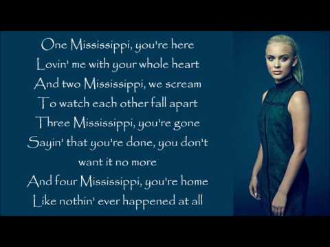 Zara Larsson ~ One Mississippi ~ Lyrics