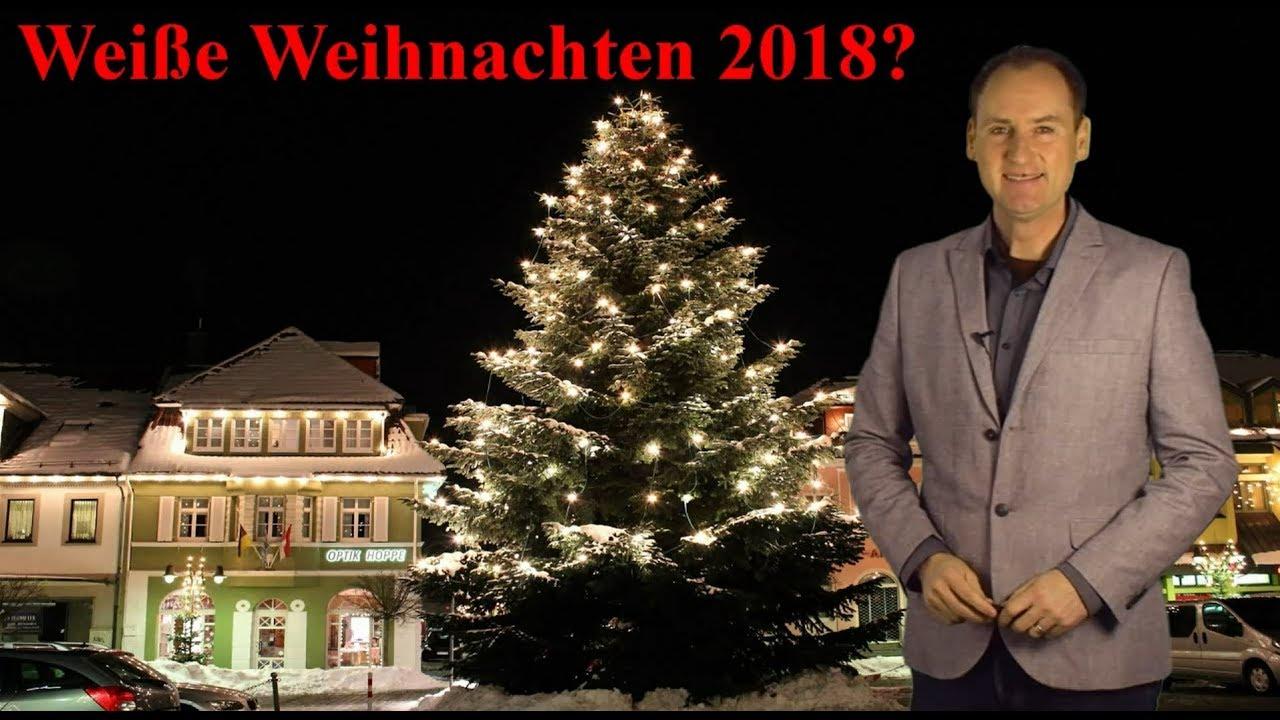Weihnachten 2018: weiß oder grün? Was sagen Statistik und ...