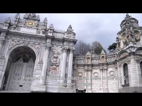 Dolmabahçe Palace In Less Than One minute