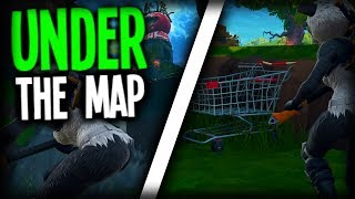 HOW TO GET UNDER TOMATO TEMPLE | Fortnite Battle Royale | Underground Glitch