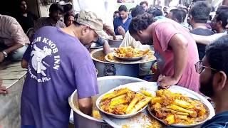 Nadir ali p4 pakao 2018 | street food Karachi | Biryani