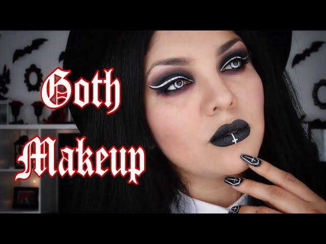 GOTH Makeup - Maquillaje GÓTICO