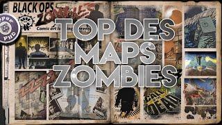 LE TOP DES MAPS ZOMBIES !