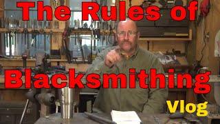 Rules? in blacksmithing? We don