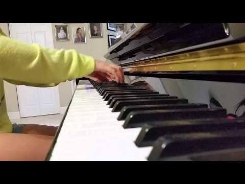 Leaving California Maroon 5 Piano Cover