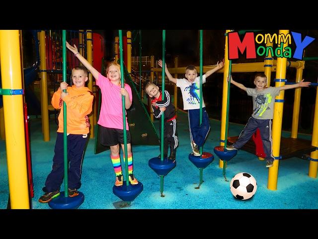 Girls Day, Sports, Park & Toys || Mommy Monday