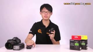 yongnuo yn622c tx yn622n tx ttl wireless flash trigger controller for canon nikon product review