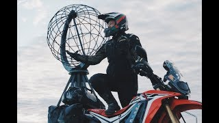 Riding sampai ujung utara Eropa lewati Arctic Circle