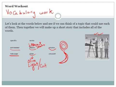 Unit 4 Grade 4 English Review Worksheet - YouTube