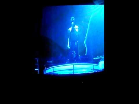 Trey performing at the 2011 BET Awards