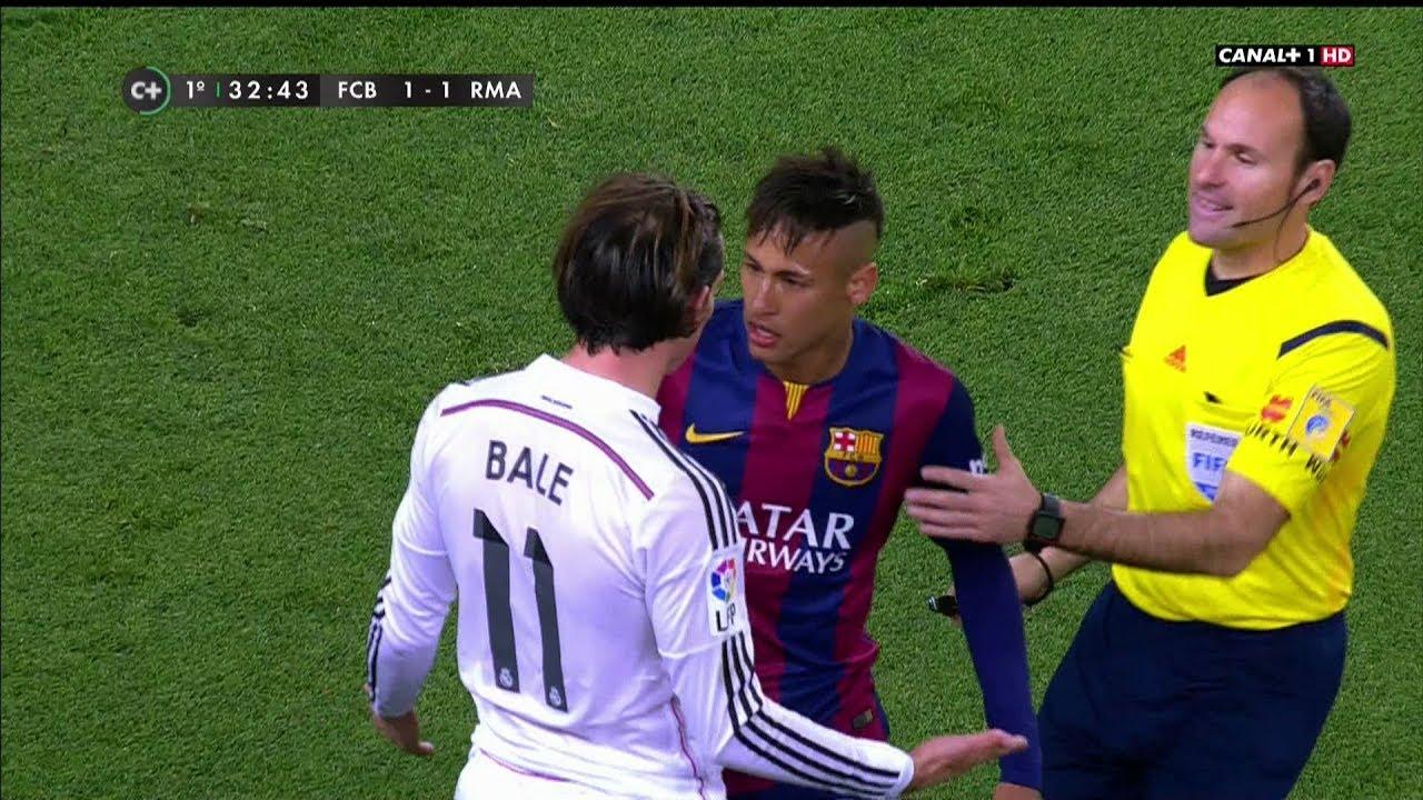 barcelona vs real madrid 1-1 english commentary