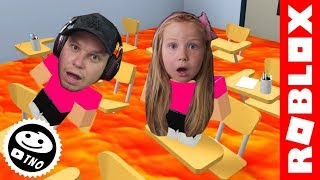 🔥 ZEM-The Floor is LAVA | Roblox | Daddy and Barunka CZ/SK
