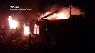 Пожар на улице Глинки