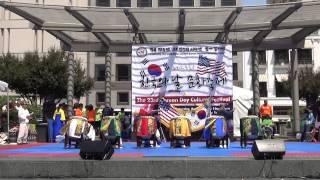 샌프란시스코 2015년 한국의 날 문화축제 행사 (옹경일 무용단)