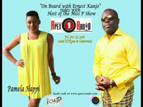 APEX1RADIO - On Board with Ernest Kanjo(OBWEK)  rides with Pamela Happi Host of  the Miss P Show