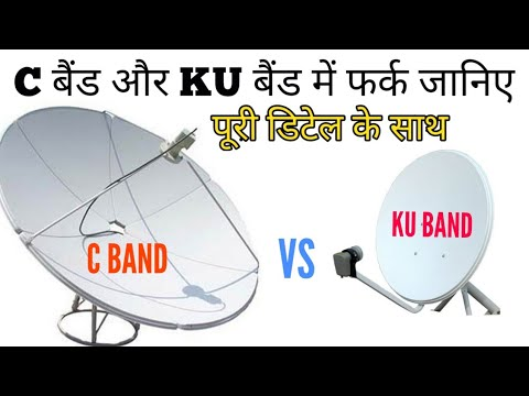 Difference between C band And KU Band dish antena and LNB