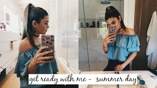 Download Video GET READY WITH ME - SUMMER DAY OUT MP3 3GP MP4