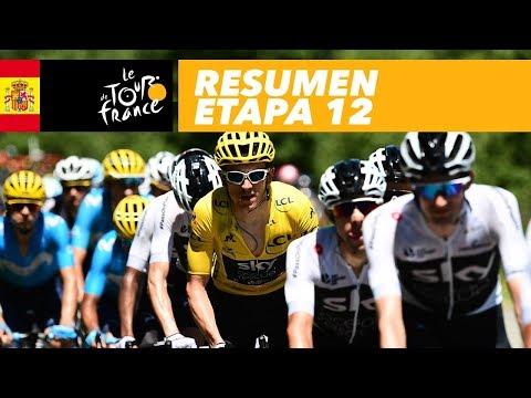 Resumen - Etapa 12 - Tour de France 2018