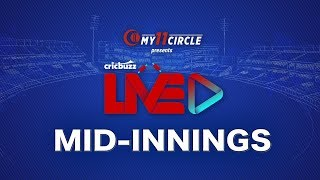 Cricbuzz LIVE: Semi-final 1, India v New Zealand, Mid-innings show