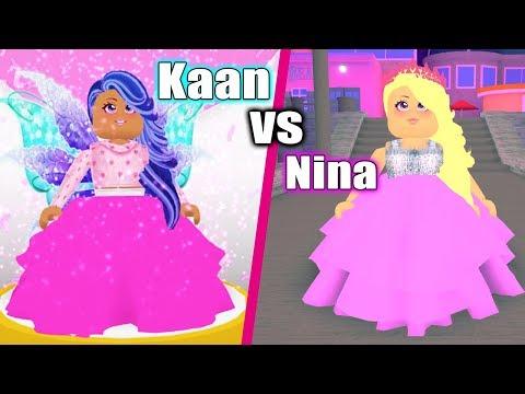 Roblox: WER IST WUNDERSCHÖN? Fashion Famous Duell Kaan VS Nina - Wer Gewinnt Schönheits Wettbewerb?