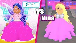 Roblox: Who IS BEAUTIFUL? Fashion Famous Duel Kaan VS Nina - Who wins beauty contest?