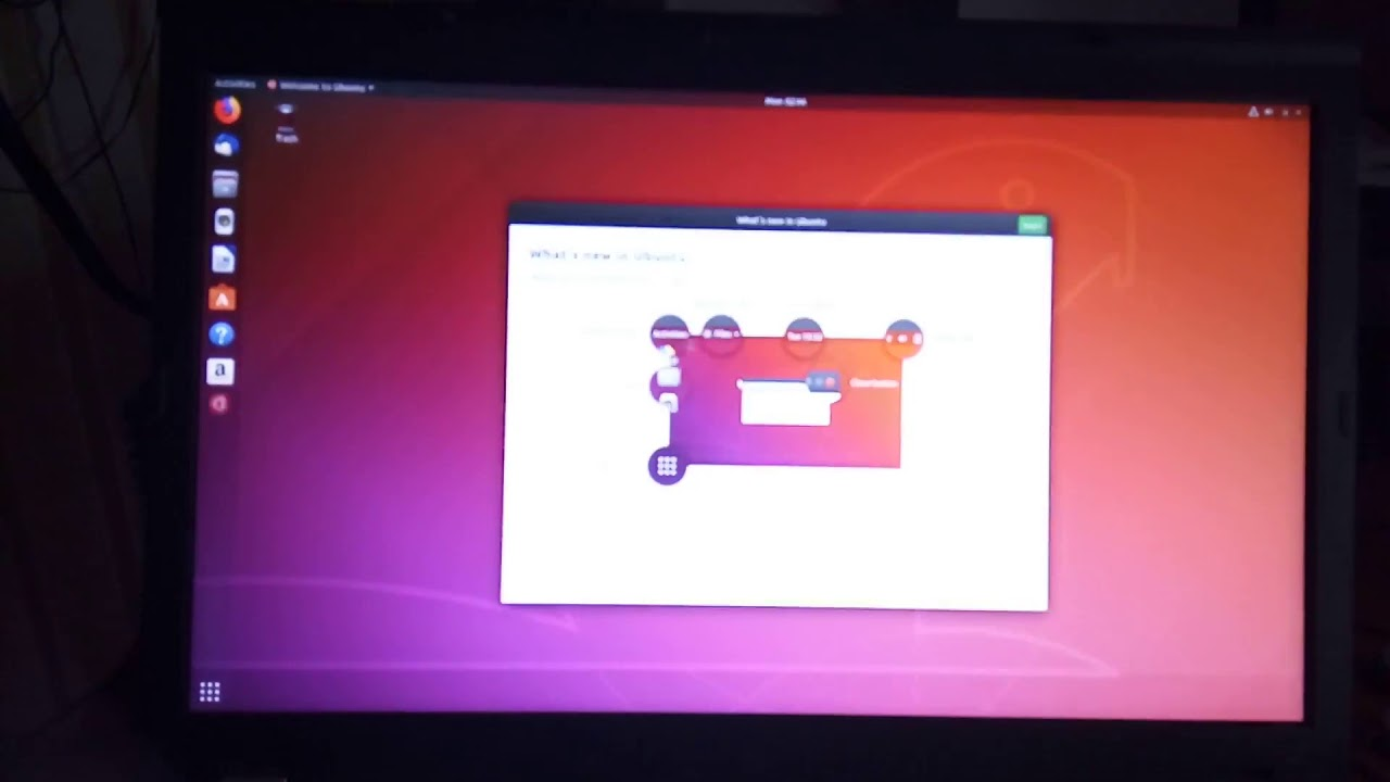 ubuntu 18 04 on lenovo w530 part 1 20180514_094338 mp4