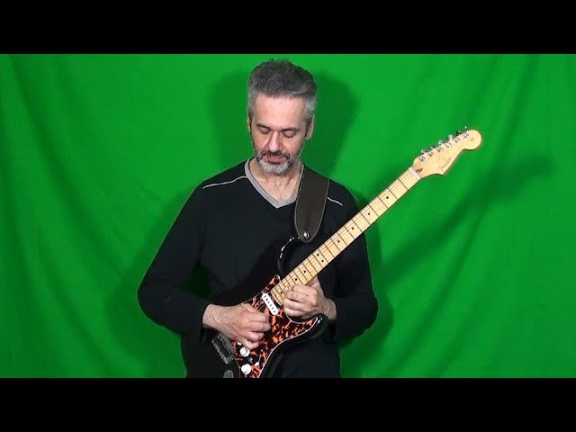 JASON BECKER's solo on A LIL' AIN'T ENOUGH (David Lee Roth) played by MARCELLO ZAPPATORE