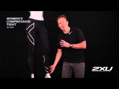 wa1968b 2XU WOMENS PWX COMPRESSION TIGHTS