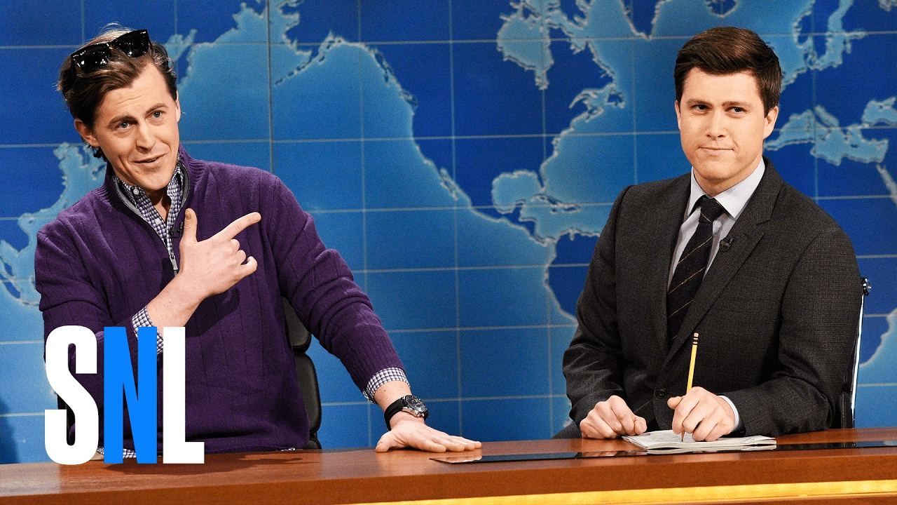 weekend update guy who just bought a boat snl youtube