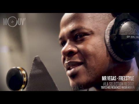 MR. VEGAS : Freestyle (Live @ Mouv' Studios) #SELECTIONREGGAE