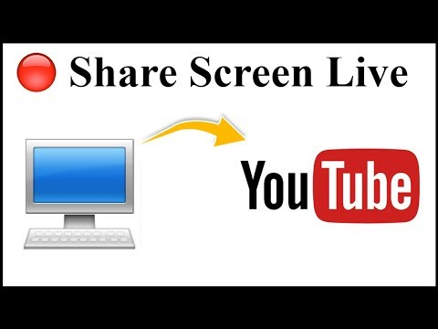 How To Live Stream Computer/PC/Laptop Screen On YouTube?