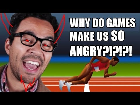 Why Do Games Make Us SO Freakin Angry?!?! | Game/Show | PBS Digital Studios