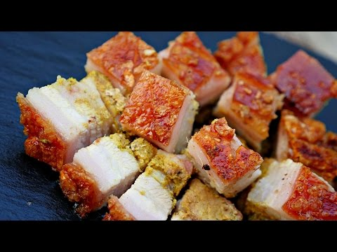 How To Make Roasted Pork Belly With Crispy Skin