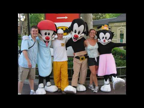 Animaniacs At Six Flags In Real Life Youtube