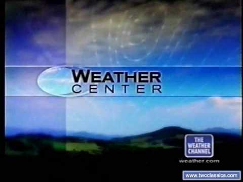 Weather Channel Weather Center Daytime Intro 2000
