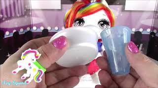 BubblePOP Kids! Poopsie SLIME Surprise UNICORN! Magically Turn Unicorn FOOD into Sparkly DIY SLIME!