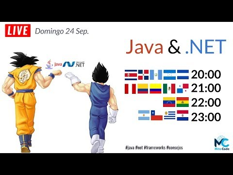 Java & .NET ¿Amigos o Rivales?