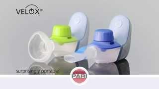 VELOX - Mobile nebuliser device based on vibrating membrane technology