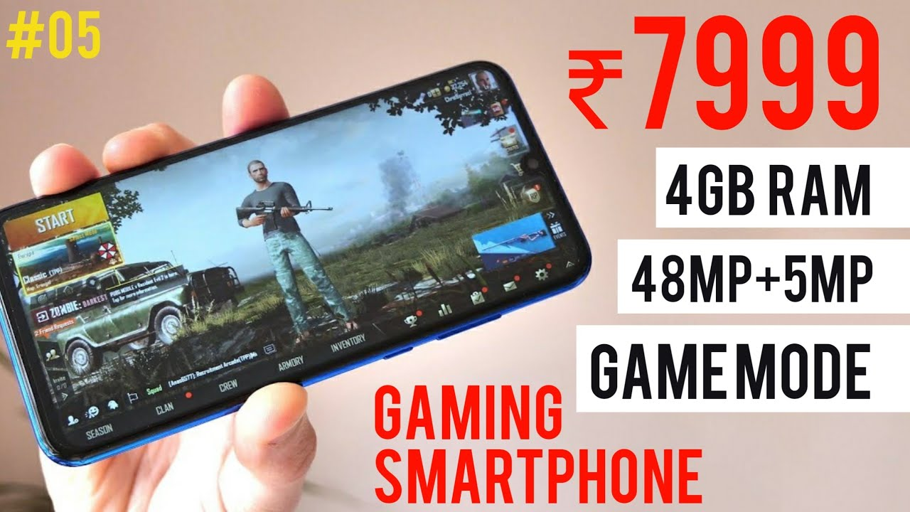 Top 5 Budget Gaming Smartphone Under 10000 In 2019